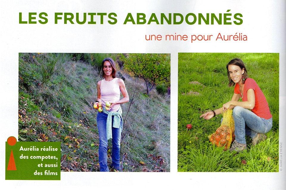 article de presse Aurélia